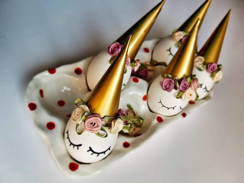 Najlepša velikonočna jajčka samorogi