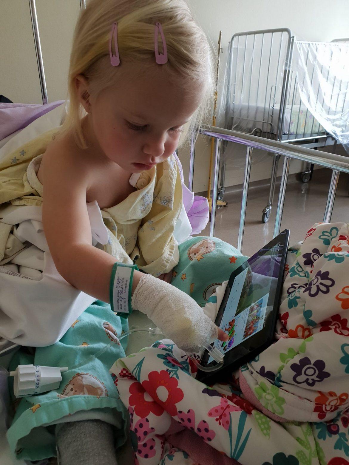 Jerca po anesteziji in posegu