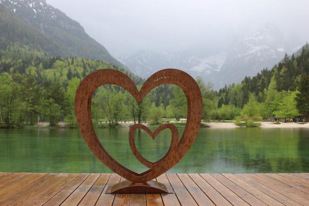 Srce Jasne, pred katerim se vsi radi slikamo