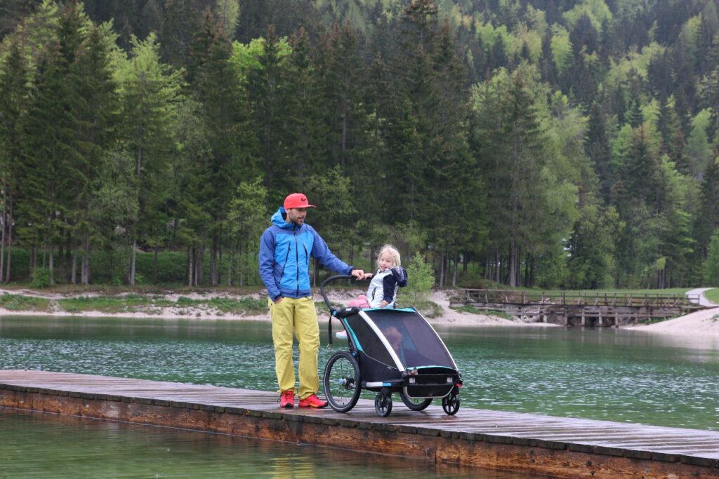 Pohajkovanje po okolici jezera Jasna